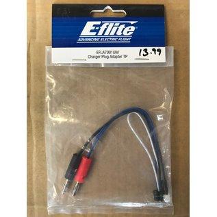 E-FLITE EFL A7001UM CHARGER PLUG ADAPTER TP