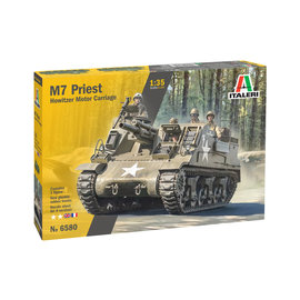 ITALERI ITA 6580 M7 PRIEST HOWITZER MOTOR CARRIAGE