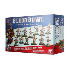 GAMES WORKSHOP WAR 99120902002 BLOOD BOWL IMPERIAL NOBILITY BLOOD BOWL TEAM