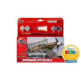 AIRFIX AIR 55100 1/72 Small Starter Set Spitfire MK1a