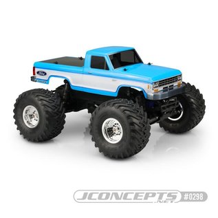 JCO 0298 1985 FORD RANGER FITS - TRAXXAS STAMPEDE CLEAR BODY