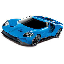 TRAXXAS TRA 83056-4-BLUEX Ford GT®: 1/10 Scale AWD Supercar. Ready-To-Race® with TQi Traxxas Link™ Enabled 2.4GHz Radio System, XL-5 ESC (fwd/rev), and Traxxas Stability Management (TSM)