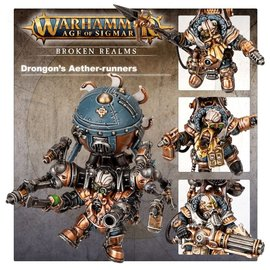 GAMES WORKSHOP WAR 99120205042 AOS BROKEN REALMS DRONGON HUMBOLDSSON DRONGON'S AETHER-RUNNERS