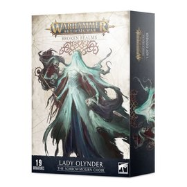 GAMES WORKSHOP WAR 99120207103 AOS BROKEN REALMS LADY OLYNDER THE SORROWMOURN CHOIR
