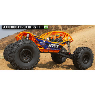 AXIAL RACING AXI 03005T1 RBX10 RYFT 1/10 4WD RTR ORANGE