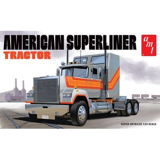 AMT AMT 1235 AMERICAN SUPERLINER TRACTOR MODEL KIT 1:24 SCALE