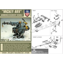 DUS D48005 MICKEY ARV 1/48 RESIN MODEL KIT
