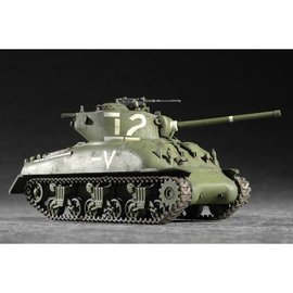 TRUMPETER TRU 07222 M4A1 (76) W MEDIUM TANK KIT 1:72