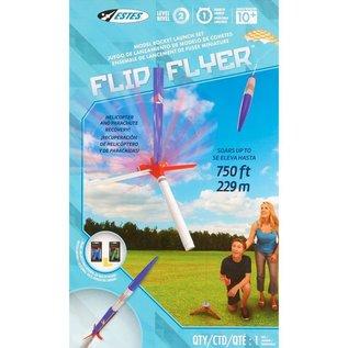 ESTES EST 1418 Flip Flyer Model Rocket Launch Set E2X