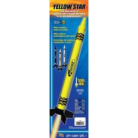 ESTES EST 1106 Yellow Star Crayon Rocket RTF rocket kit