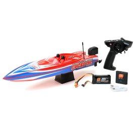 PRB 08044T2 Lucas Oil 17 Power Race DeepV w/SMART Chg&Batt:RTR