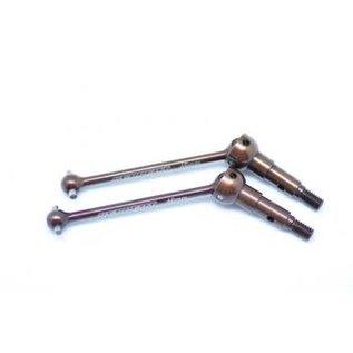 SERPENT SER 401373 CVD AXLE SET STEEL (2) S411