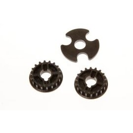 SERPENT SER 401360 PULLY MIDDLE 19T + SPACER  1/10