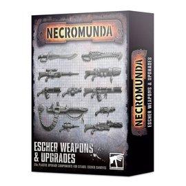 GAMES WORKSHOP WAR 99120599026 NECROMUNDA ESCHER WEAPONS & UPGRADES