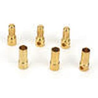 DYN C0043 GOLD BULLET CONNECTOR SET 3.5MM (3)