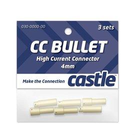 CASTLE CREATIONS CSE CCBUL43 4MM BULLET CONNECTOR SET