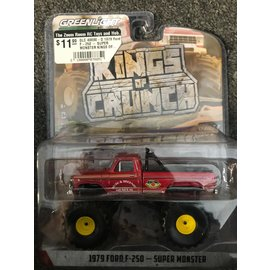 GREENLIGHT COLLECTABLES GLC 49090-D 1979 Ford F-250 - SUPER MONSTER KINGS OF CRUNCH SERIES 9