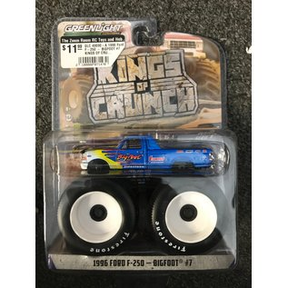 GREENLIGHT COLLECTABLES GLC 49090-A 1996 Ford F-250 - BIGFOOT #7 KINGS OF CRUNCH SERIES 9