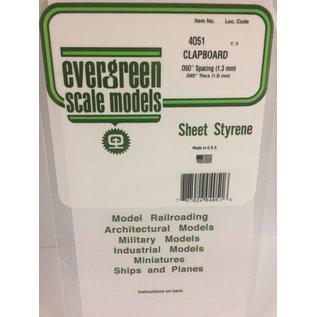 EVG 4051 CLAPBOARD EVERGREEN