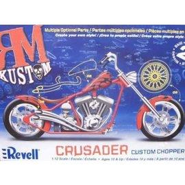 REVELL USA RMX 857314 RM KUSTOM CRUSADER CUSTOM CHOPPER WITH MULTIPLE OPTIONAL PARTS MODEL KIT