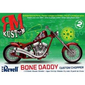 REVELL USA RMX 857317 RM KUSTOM BONE DADDY CUSTOM CHOPPER WITH MULTIPLE OPTIONAL PARTS MODEL KIT