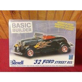 REVELL USA RMX 850850 32 FORD STREET ROD BASIC BUILDER MODEL KIT
