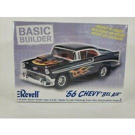 REVELL USA RMX 850855 56 CHEVY BEL AIR BASIC BUILDER MODEL KIT