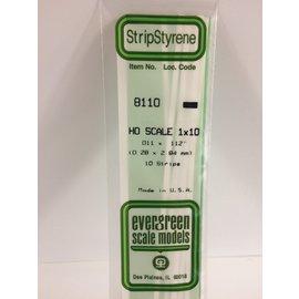 EVG 8110 HO 1X10 EVERGREEN (.011X.112)