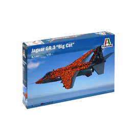 ITALERI ITA 1357 1/72 Jaguar Gr.3 Big Cat Special Colors MODEL KIT