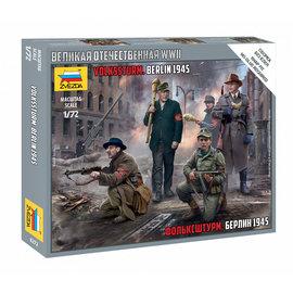 ZVEZDA ZVE 6272 GERMAN VOLKSSTURM BERLIN 1945 MODEL KIT
