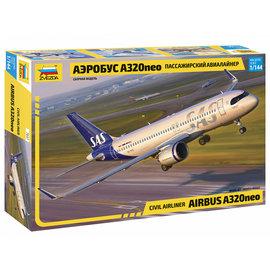 ZVEZDA ZVE 7037 CIVIL AIRLINER AIRBUS A320 NEO MODEL KIT