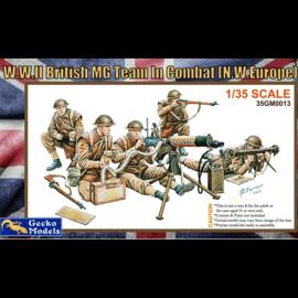 GECKO MODELS GEC 35GM0013 W.W.II BRITISH MG TEAM IN COMBAT (N.W.EUROPE) 1/35