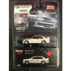 MGT 00041 BMW M3 E30 ALPINE WHITE LHD