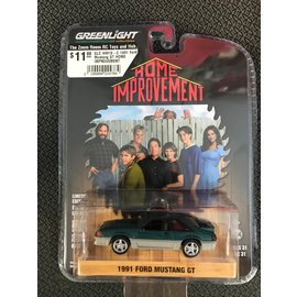 GREENLIGHT COLLECTABLES GLC 44910-C 1991 Ford Mustang GT HOME IMPROVEMENT