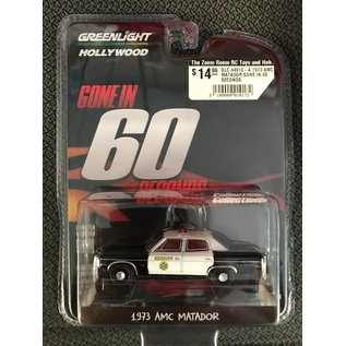 GREENLIGHT COLLECTABLES GLC 44910-A 1973 AMC MATADOR GONE IN 60 SECONDS