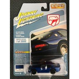 JOHNNY LIGHTNING JLC 4409B 1997 Dodge Viper GTS VIPER GTS BLUE