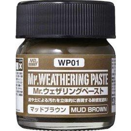 MRHOB WP01 MR. WEATHERING PASTE MUD BROWN 40ml