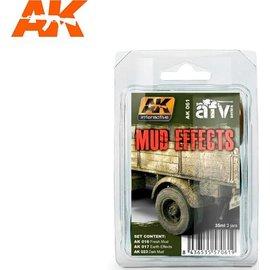 AKI 061 MUD EFFECTS SET