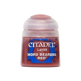 GAMES WORKSHOP WAR 2291 WORD BEARERS RED LAYER