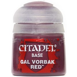 GAMES WORKSHOP WAR 2141 GAL VORBAK RED BASE