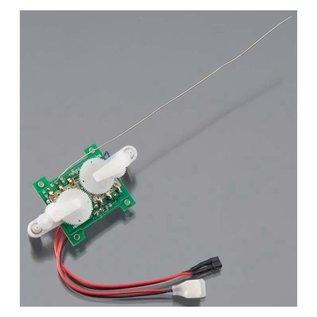 FLYZONE HCA L7601 3 CHANNEL 2.4GHZ RX MICRO CONTROL UNIT PLAYMATE MICRO RTF