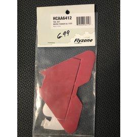 FLYZONE HCA A6412  TAIL SET MICRO FOKKER DR.1 RTF