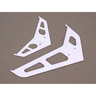 BLH BLH 1672  Stabilizer/Fin Set, White: B450, 330X, 330S