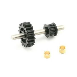 E-FLITE EFL H1455  TAIL DRIVE GEAR /PULLEY ASSEMBLY B400