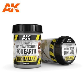 AKI 8023 TERRAINS NEUTRAL TEXTURE FOR EARTH 250ml