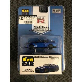 ERA CAR ERA NS20GTRSP24B Nissan GT-R 50TH ANNIVERSARY EDITION BAYSIDE BLUE