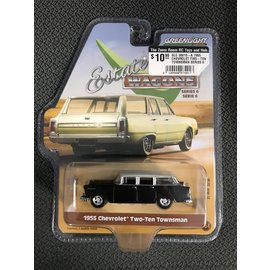 GREENLIGHT COLLECTABLES GLC 36010-A 1955 CHEVROLET TWO-TEN TOWNSMAN SERIES 6