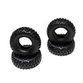 AXIAL RACING AXI 40001 1.0 BFGoodrich Krawler T/A Tires (4pcs): SCX24