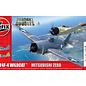 AIRFIX AIR A50184 DOGFIGHT DOUBLES F4F-4 WILDCAT MITSUBISHI ZERO STARTER SET