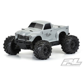 Proline Racing PRO 325514 Early 50's Chevy Tough-Color Stone Gray Body (STAMPEDE & GRANITE)